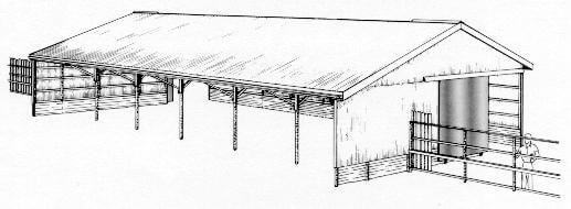 Open-Front-Clear-Span-Barn