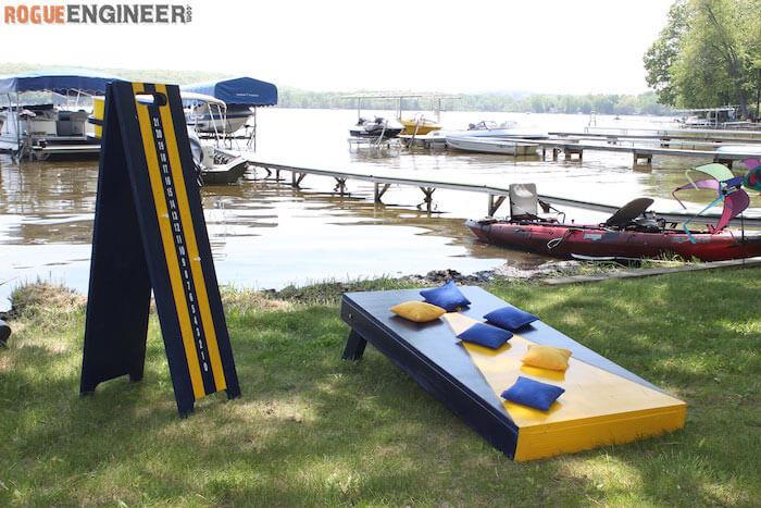 blue-and-yellow-cornhole-board
