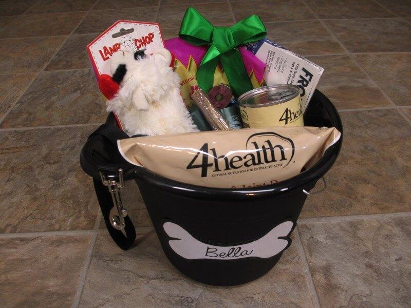 pet gift bucket
