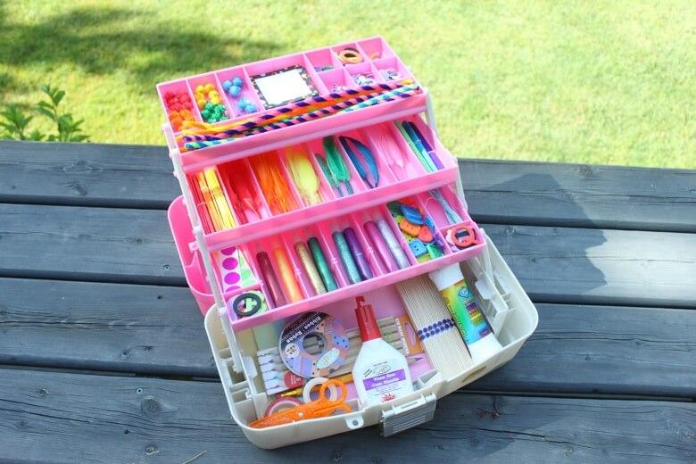 craft box basket