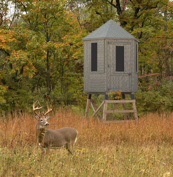 4 x 6 DIY Deer Stand