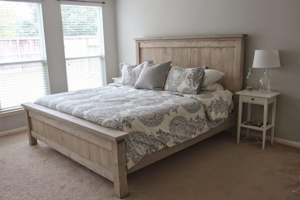 Farmhouse-Inspired Platform Bed Plan
