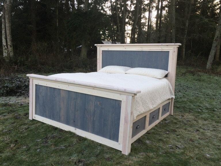 diy king platform bed
