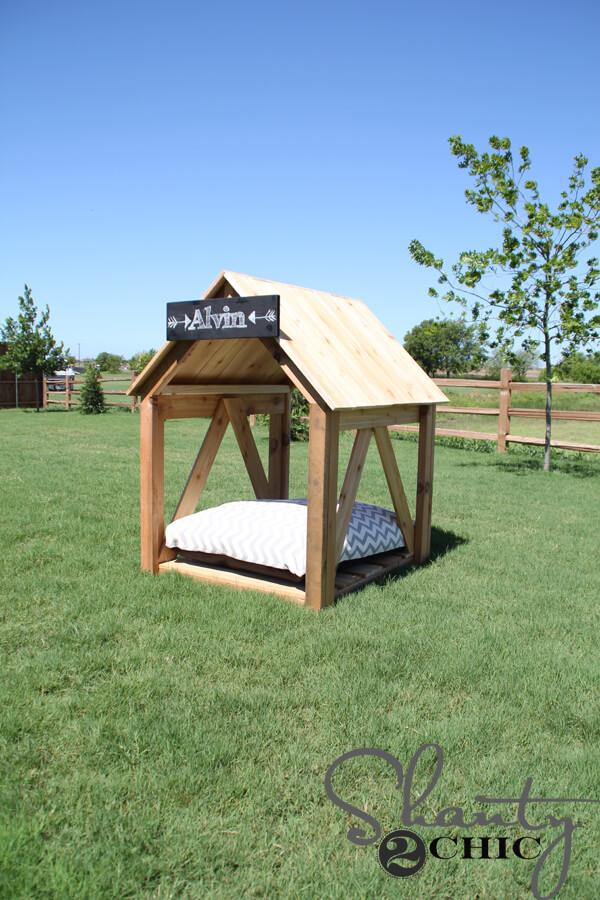 Breezy Dog House Plans