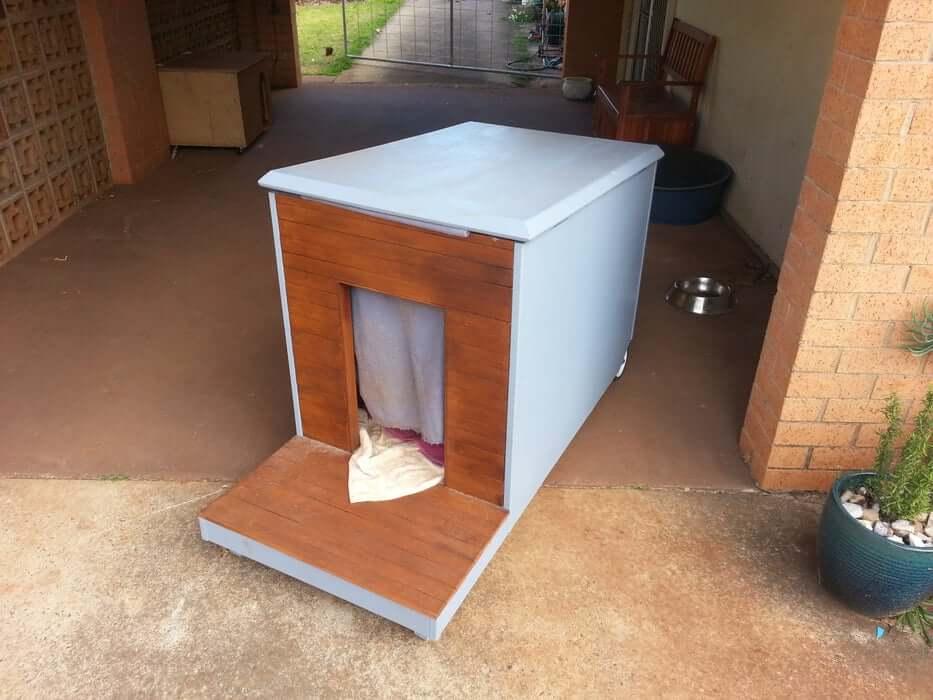 Dog House on Wheels Plans