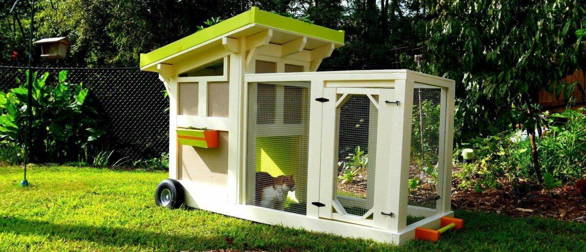 2-by-6 Portable Quaker Box Duck House