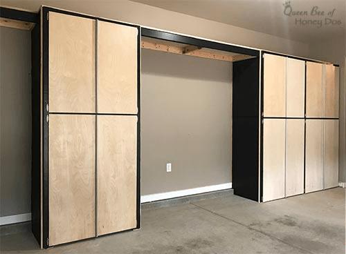 diy garage shelf