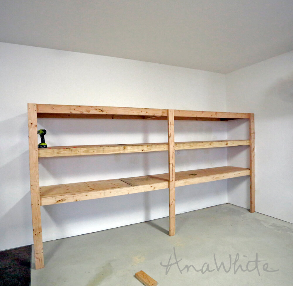 Shelves Attached to Walls