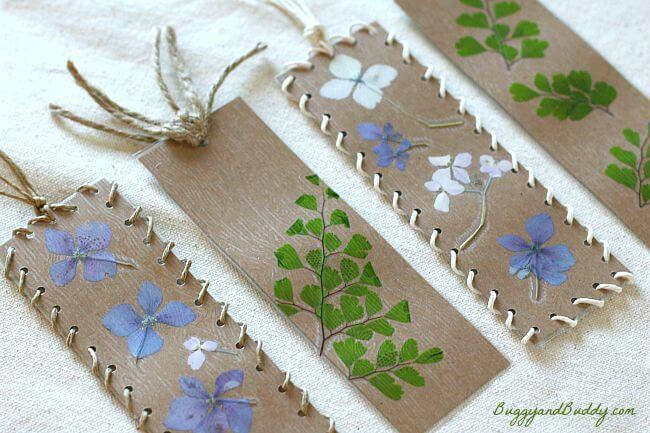 fall crafts - bookmark