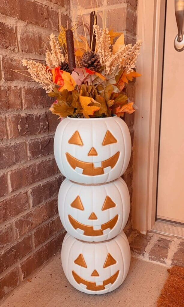 Stackable Porch Pumpkin