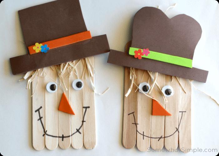 Happy Scarecrow Craft