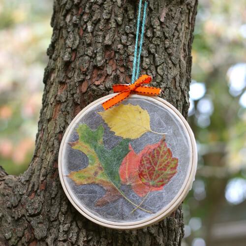 Leaf Suncatcher