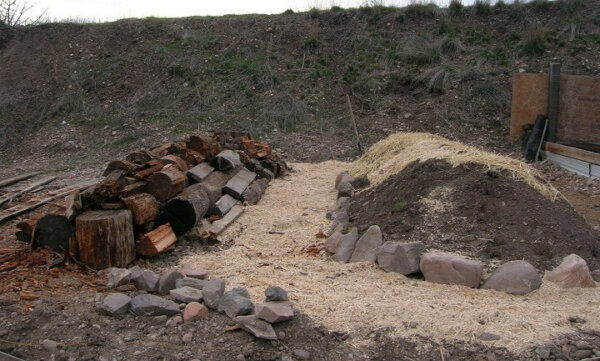 brushwood bundles