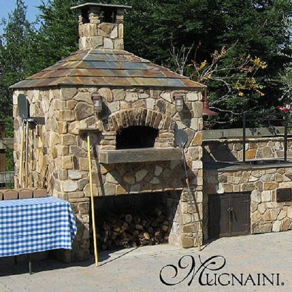 outdoor stone oven insteading