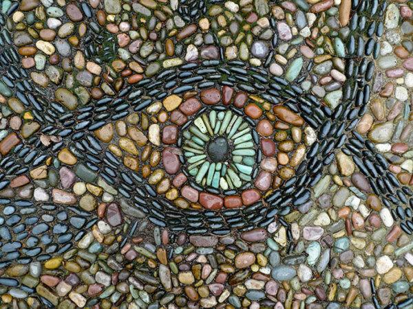 pebble-mosaic-eye-see