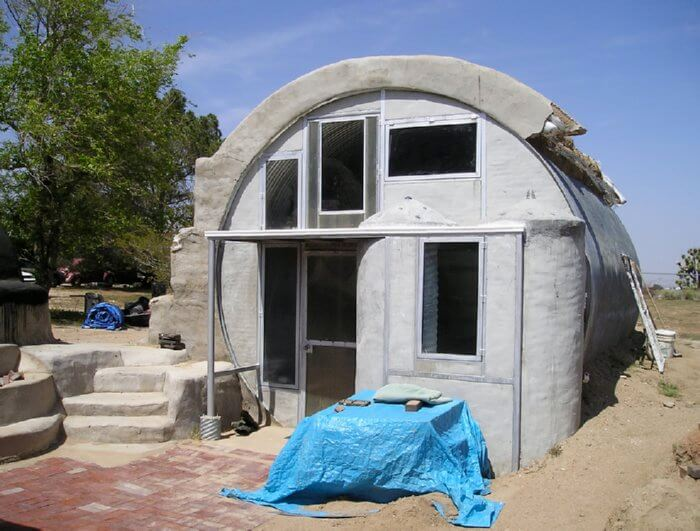 Earthbag homes insteading for New way of building houses