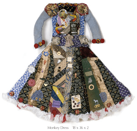 dress made from junk