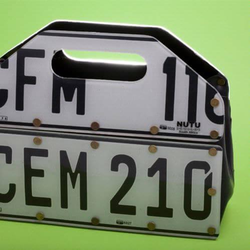 license plate pocketbook