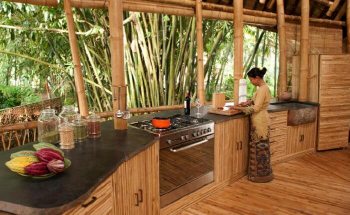 easy bamboo interior decoration. bamboo furniture Bamboo Furniture  Insteading
