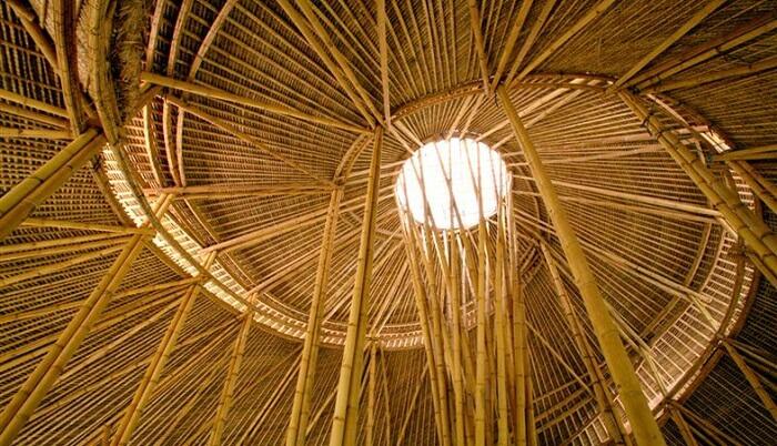 bamboo construction
