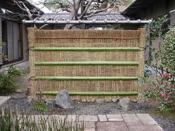 brushwood fencing