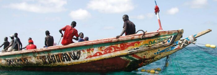 african boat