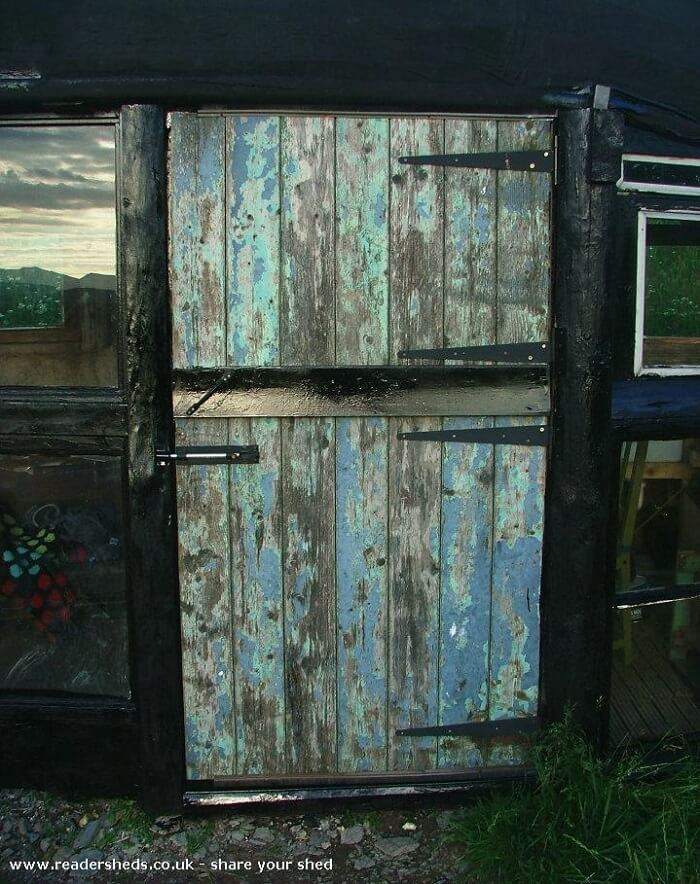 shed of the year boat shed door