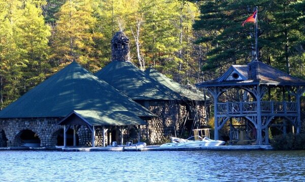 boathouse at camp katja