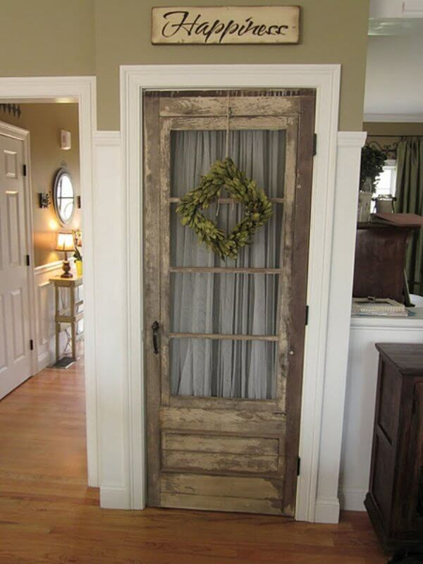 reuse of old door