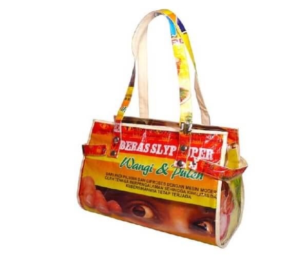 rice sack handbag