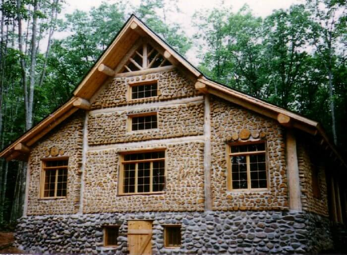 Cordwood homes insteading for Cost of building a house in wisconsin