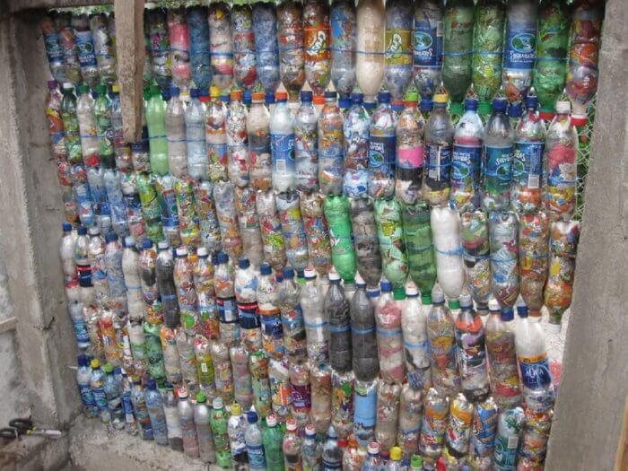 plastic bottle construction