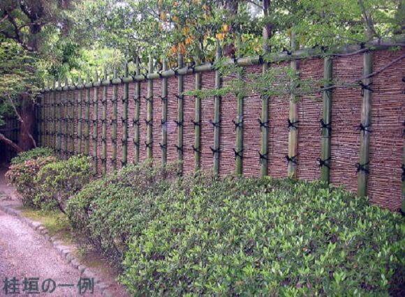 brushwood roll fence