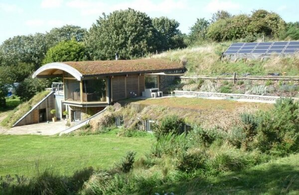 An Award Winning Earth Shelter Dwelling By Cam Architects. The Sedum House,  In Gimingham, North Norfolk, UK, Incorporates Green Technology In The Form  Of ...
