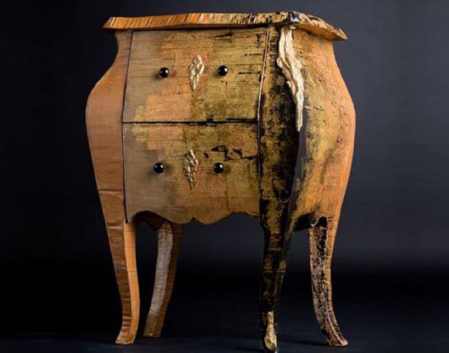 cardboard-chest