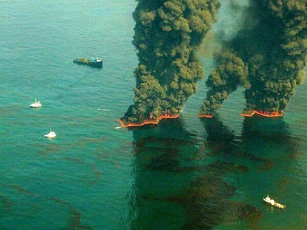 contolled burn gulf of mexico
