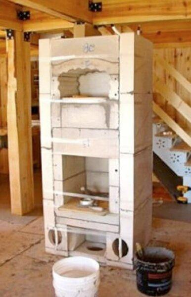 masonry-heater-oven-core