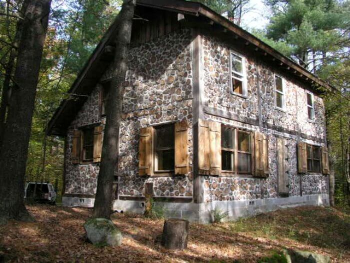 Nice 12) Off The Grid Cordwood Home. Cordwood Construction Photo