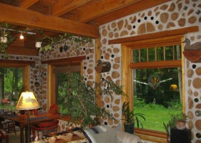 Cordwood Homes • Insteading on cob homes design, log homes design, simple small house design, brick homes design, straw homes design, prefab round home design, yurt home design, earthship homes design, energy homes design,