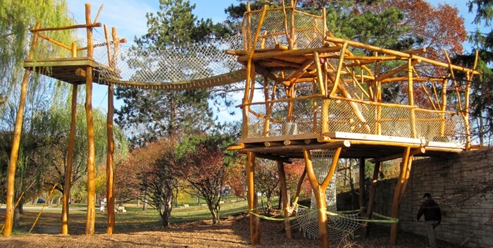 Whole Tree playground