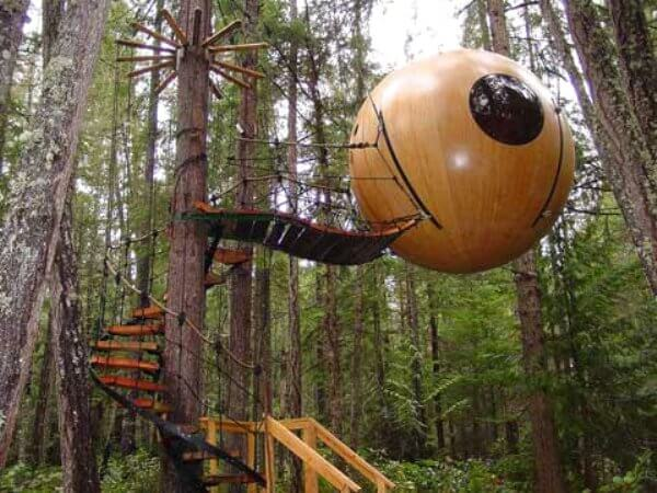 tree house sphere