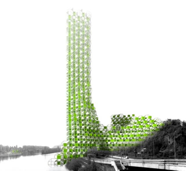 Vertical Farming Insteading