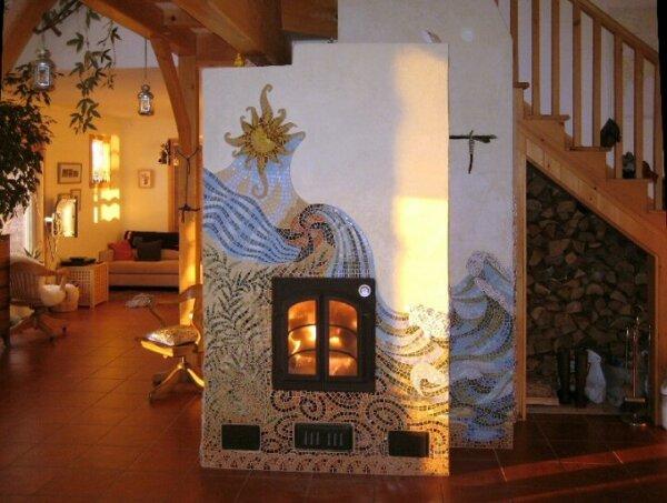 masonry-heater-stucco-mosaic-core-heat-kit