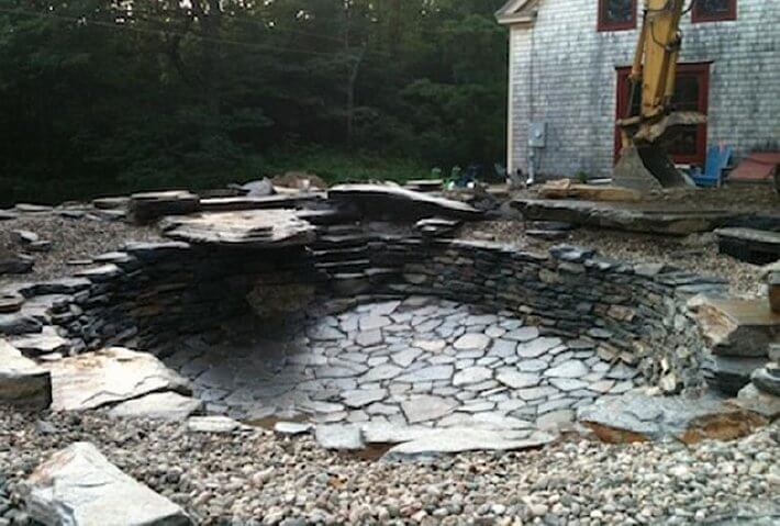 Natural pools or swimming ponds insteading for Make your own pond liner