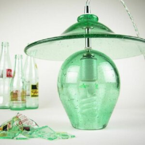 wolfartglass-blown-recycled-glass-pendant-lamp