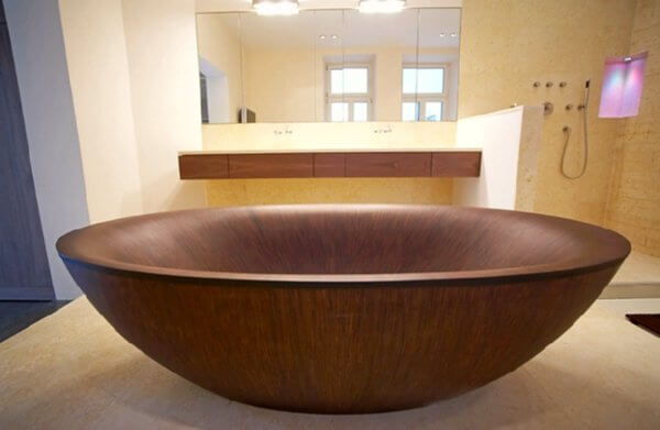 OCEAN Hand Crafted Tub