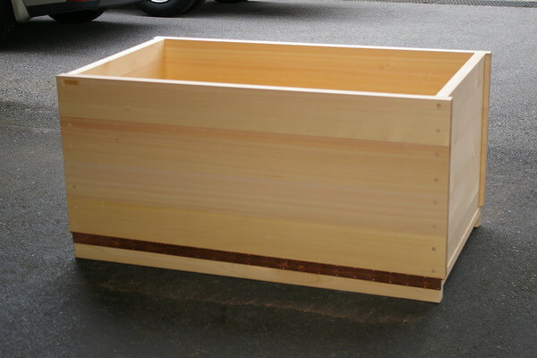 Hinoki Wood Bathtub