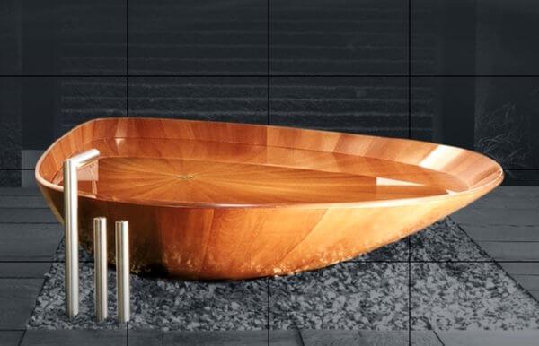 wooden bathtubs insteading. Black Bedroom Furniture Sets. Home Design Ideas