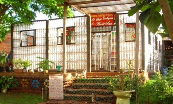 Plastic Bottle Homes and Greenhouses • Insteading