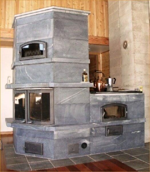 randysheater solidrockmasonry - Wood Burning Kitchen Stove